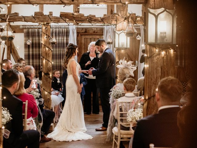 Kieran and Kayley's wedding in Eaton, Cheshire 1