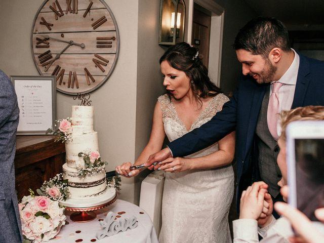 Kieran and Kayley's wedding in Eaton, Cheshire 2