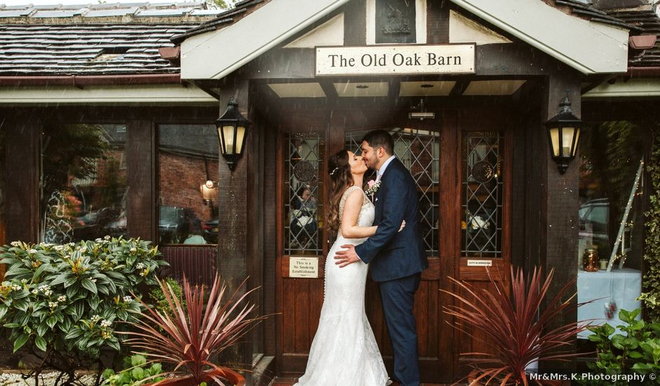 Kieran and Kayley's wedding in Eaton, Cheshire
