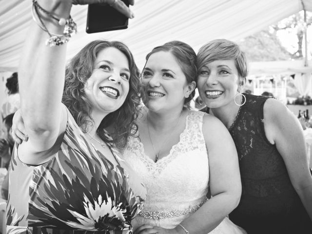 Laura and Amy's wedding in Redditch, Worcestershire 10