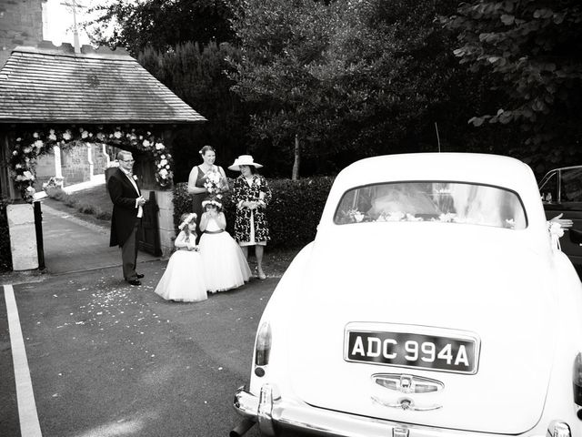 Mark and Natalie's wedding in Callow End, Worcestershire 6