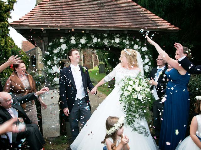 Mark and Natalie's wedding in Callow End, Worcestershire 8