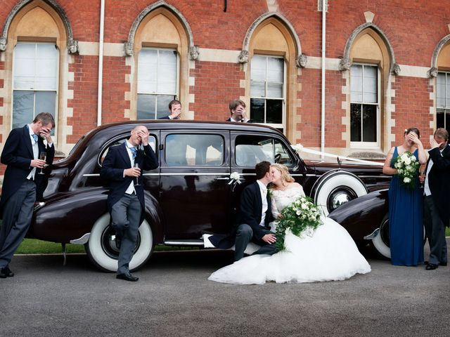 Mark and Natalie's wedding in Callow End, Worcestershire 10