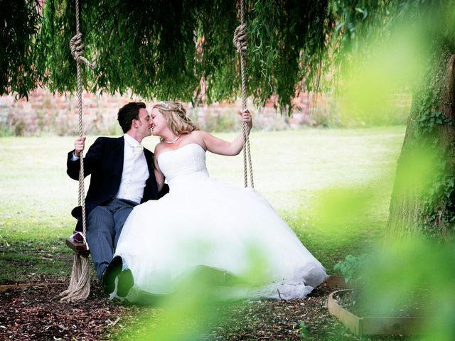 Mark and Natalie's wedding in Callow End, Worcestershire 1