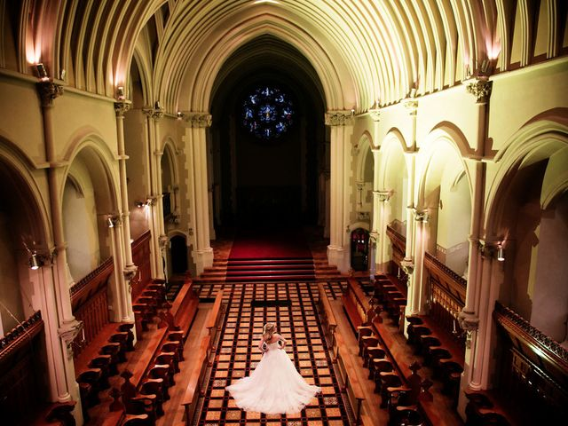 Mark and Natalie's wedding in Callow End, Worcestershire 2