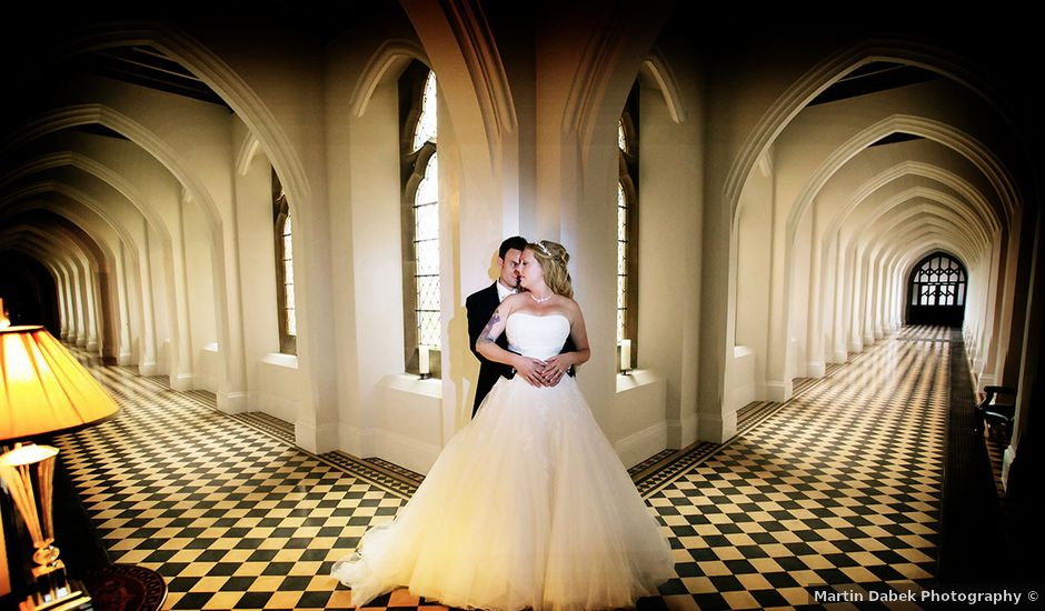 Mark and Natalie's wedding in Callow End, Worcestershire