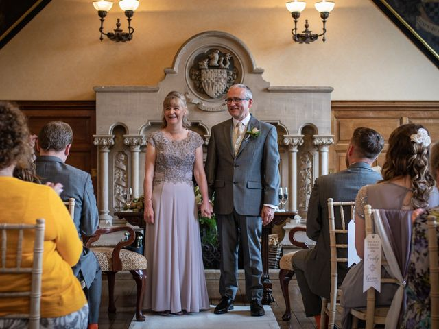Peter and Sue's wedding in Hook, Hampshire 4
