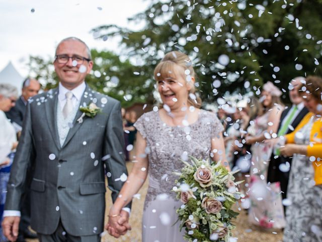Peter and Sue's wedding in Hook, Hampshire 5