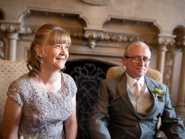 Peter and Sue's wedding in Hook, Hampshire 7