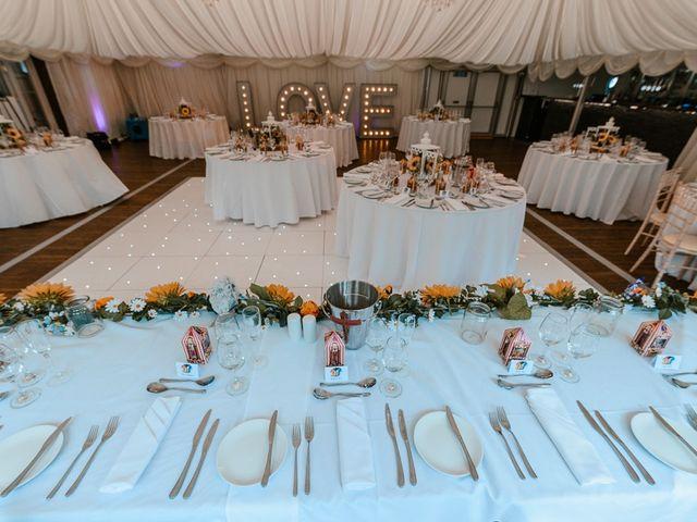 Dale and Becca's wedding in Bridgend, Bridgend 4
