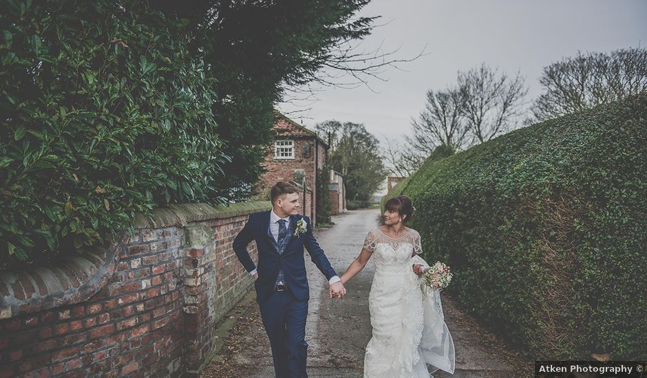 Katie & Gary's Real Wedding By Young's Hire