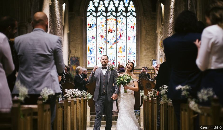 Paul and Sophie's wedding in Olney, Buckinghamshire