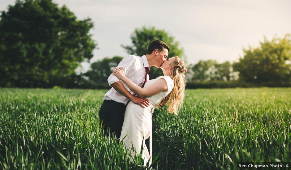 Dalton and Louisa's wedding in Broughton, Cambridgeshire