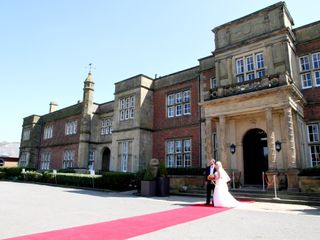 Jay and Alexandra's wedding in Cranage, Cheshire 3