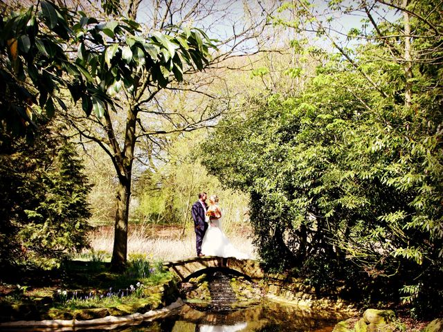 Jay and Alexandra's wedding in Cranage, Cheshire 2