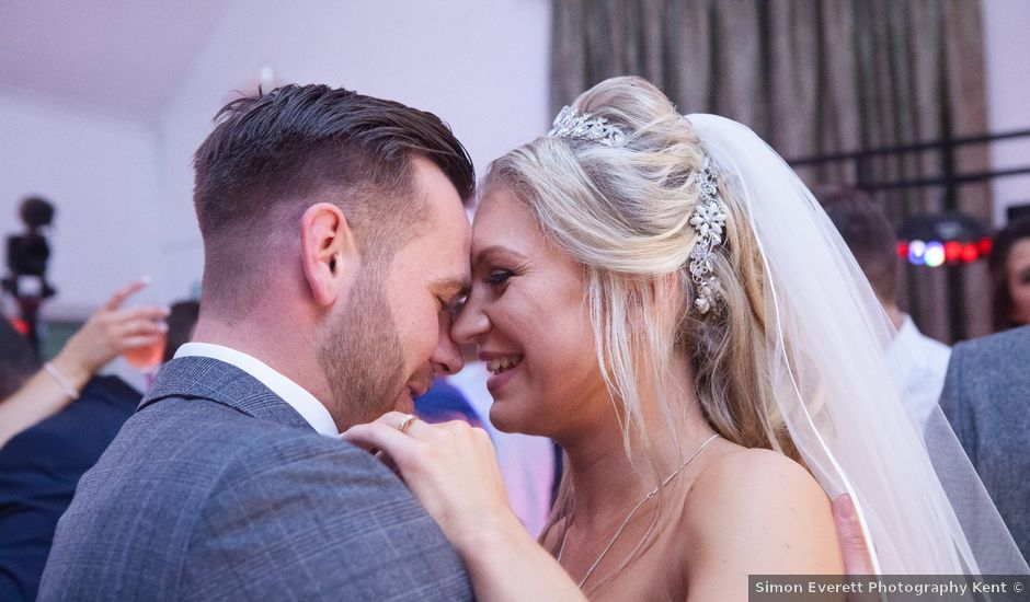Ben and Stacey's wedding in Maidstone, Kent