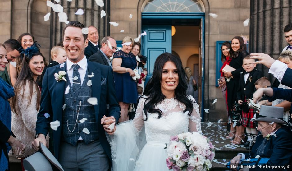 David and Billie's wedding in Edinburgh, City of Edinburgh