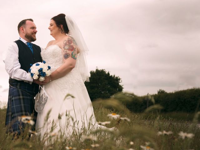 Graeme and Louise's wedding in Cannock, Staffordshire 1