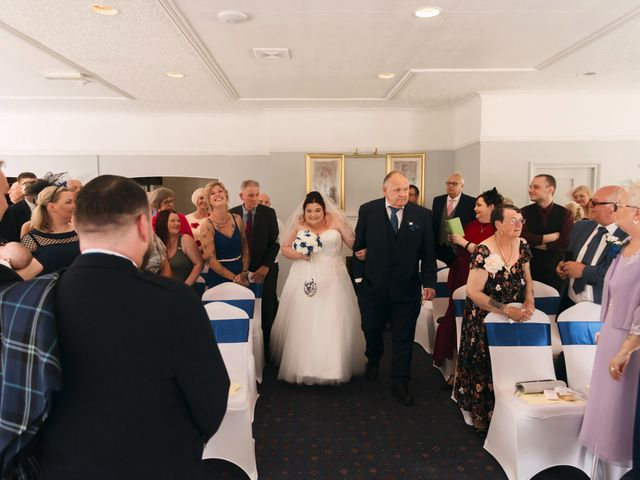 Graeme and Louise's wedding in Cannock, Staffordshire 2