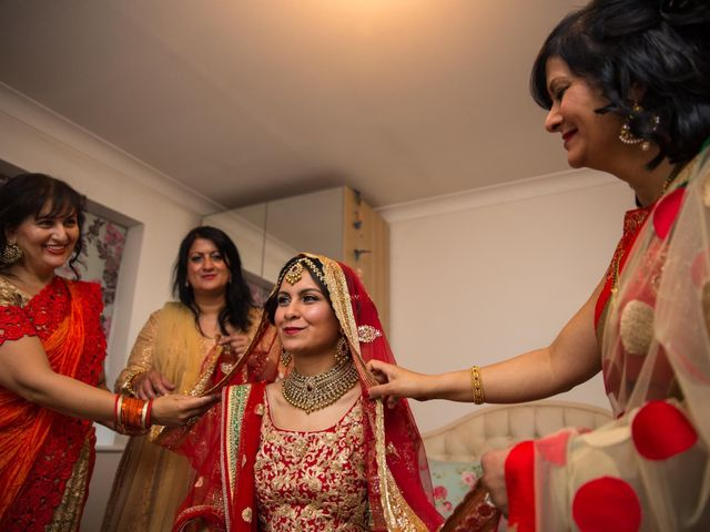 Manoj and Esha's wedding in London, Central London 1