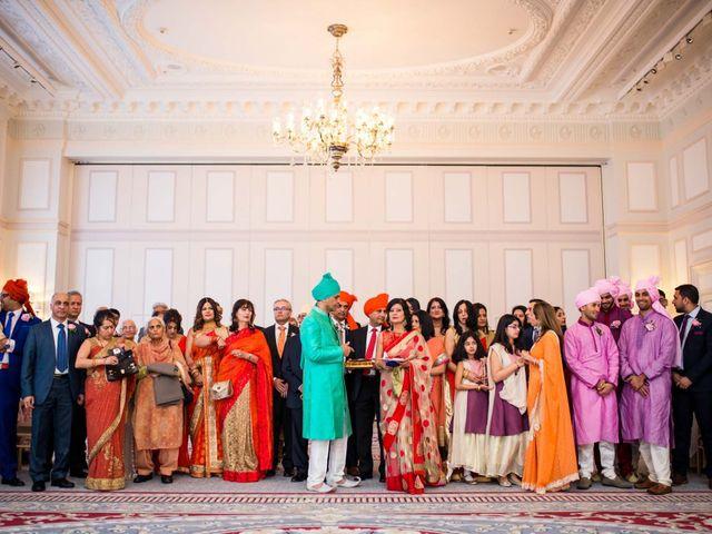 Manoj and Esha's wedding in London, Central London 9