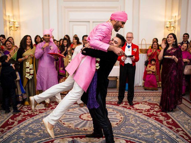 Manoj and Esha's wedding in London, Central London 10