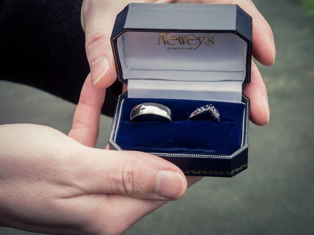 Andrew and Rebecca's wedding in Shustoke, Warwickshire 7