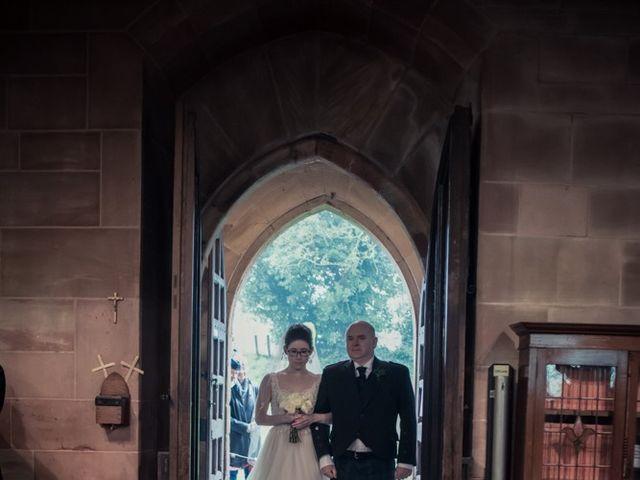 Andrew and Rebecca's wedding in Shustoke, Warwickshire 8