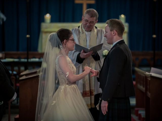 Andrew and Rebecca's wedding in Shustoke, Warwickshire 10