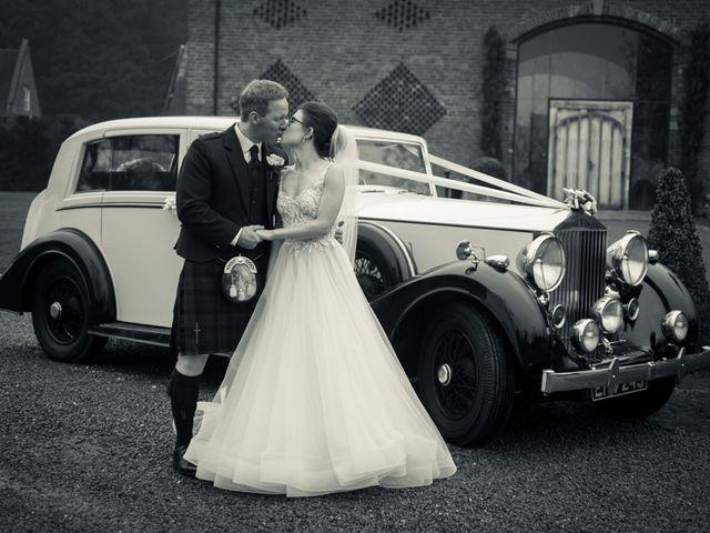 Andrew and Rebecca's wedding in Shustoke, Warwickshire 1