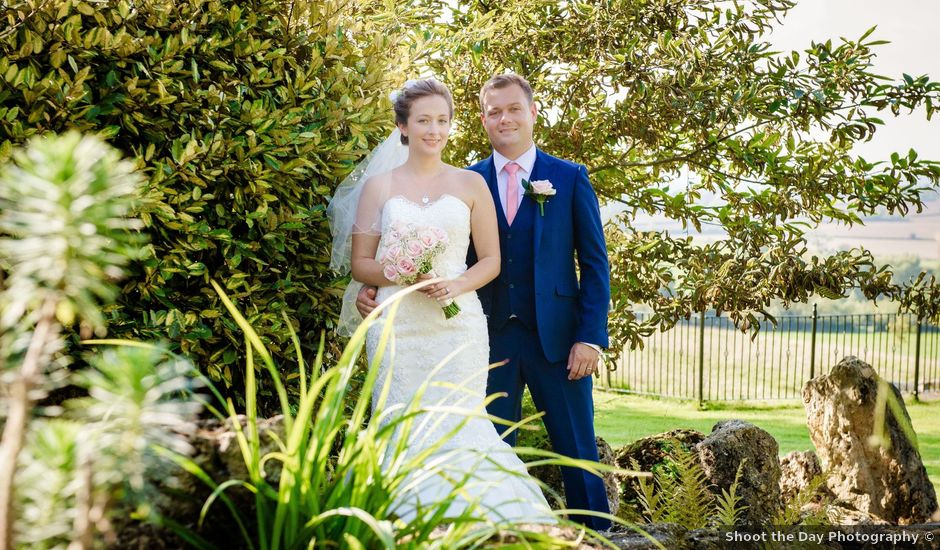 Chris and Liss's wedding in Eckington, Worcestershire