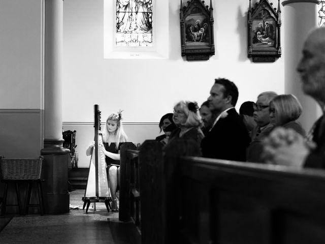 Dave and Cathy's wedding in Cushendall, Ballymena 6