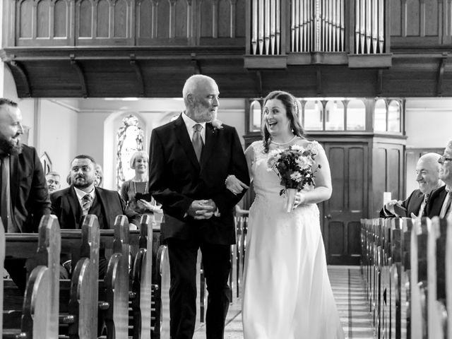 Dave and Cathy's wedding in Cushendall, Ballymena 10