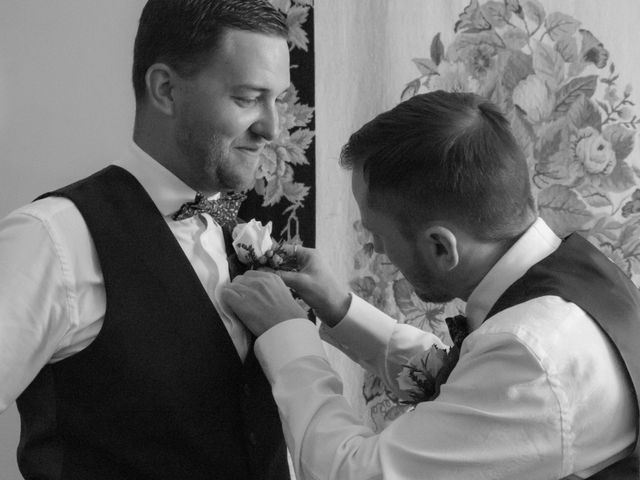 Andrew and Amy's wedding in Congleton, Cheshire 5