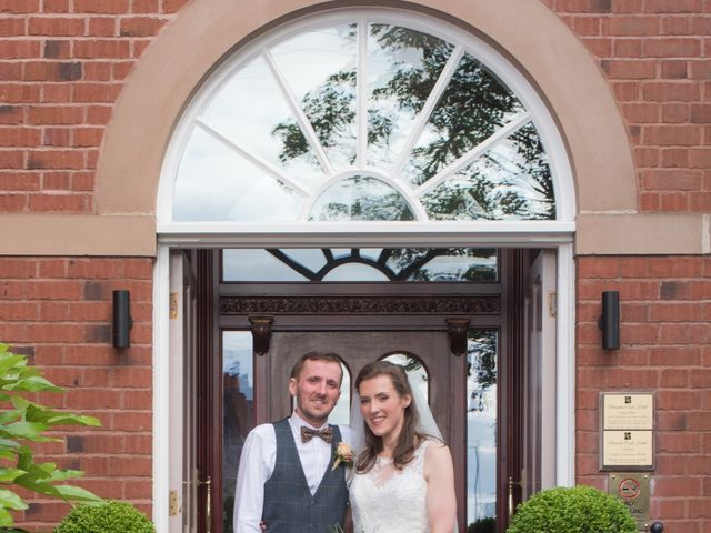 Andrew and Amy's wedding in Congleton, Cheshire 1