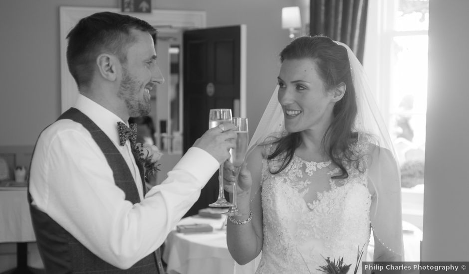 Andrew and Amy's wedding in Congleton, Cheshire