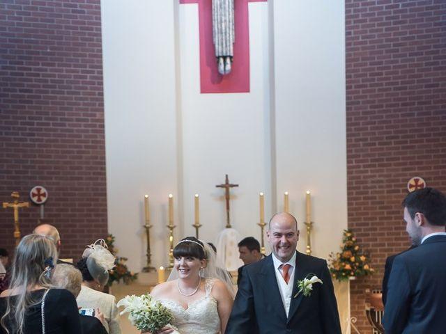 John and Liz's wedding in Castle Bromwich, West Midlands 4