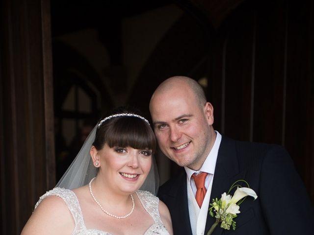 John and Liz's wedding in Castle Bromwich, West Midlands 5