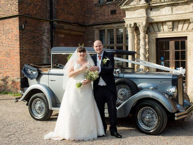 John and Liz's wedding in Castle Bromwich, West Midlands 1
