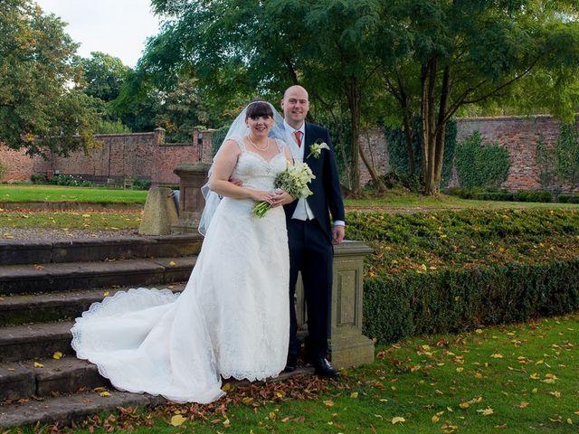 John and Liz's wedding in Castle Bromwich, West Midlands 7