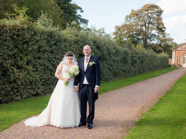 John and Liz's wedding in Castle Bromwich, West Midlands 8