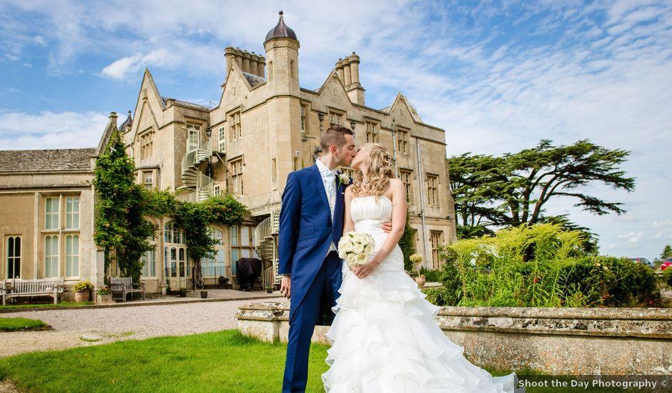 Gabi and Tom's wedding in Dumbleton, Gloucestershire