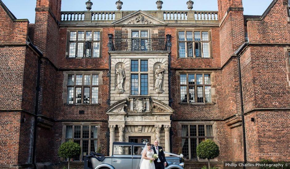 John and Liz's wedding in Castle Bromwich, West Midlands