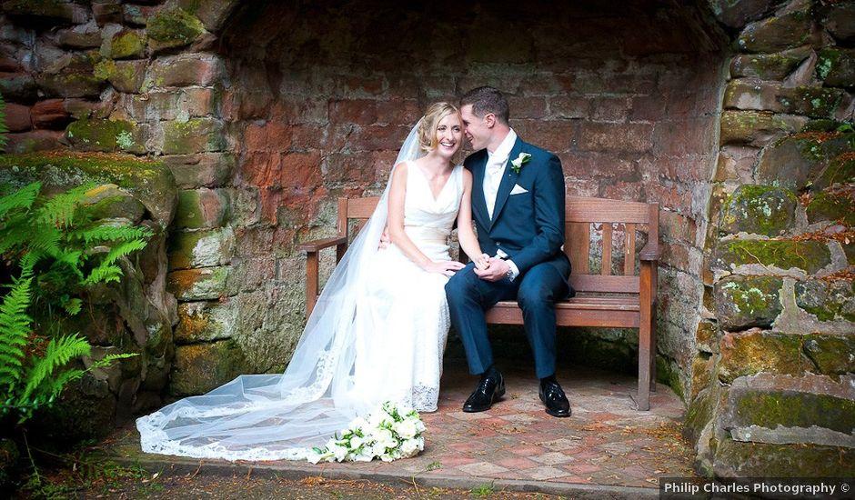 James and Elizabeth's wedding in Sutton Coldfield, West Midlands
