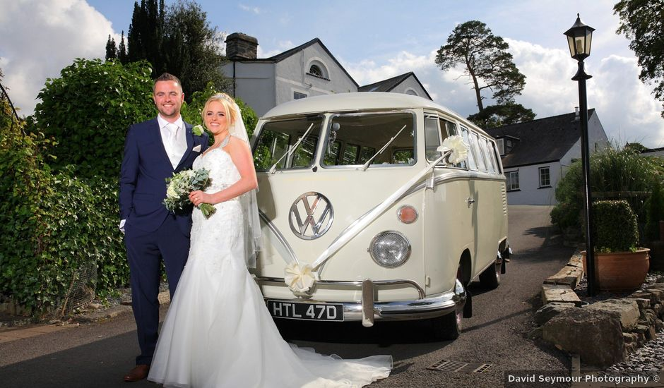Chris and Holly's wedding in Corwen, Denbighshire