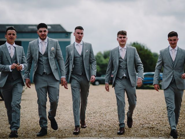 Dan and Nichole's wedding in Northampton, Northamptonshire 10