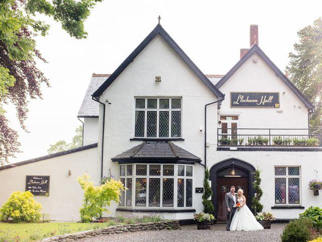 Garran and Lisa's wedding in Cilfynydd, Rhondda, Cynon, Taff 1