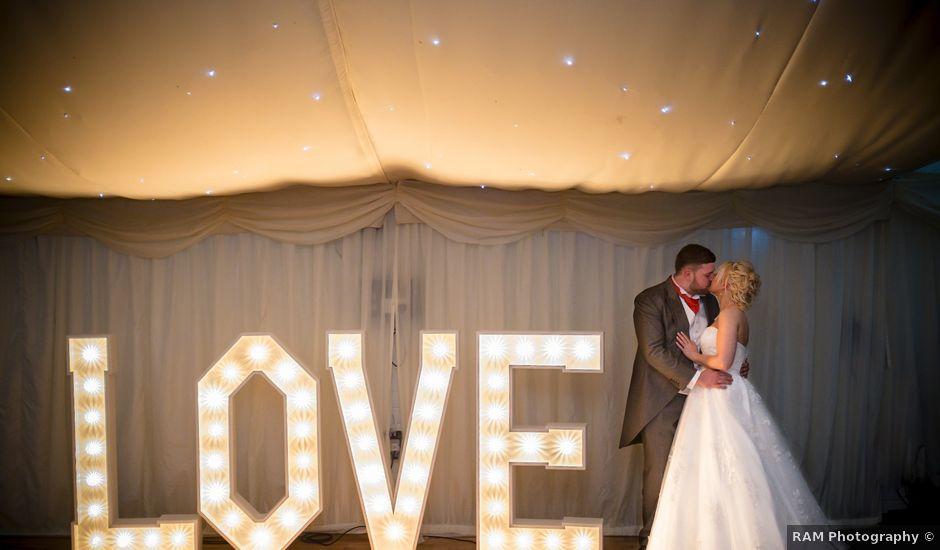 Garran and Lisa's wedding in Cilfynydd, Rhondda, Cynon, Taff