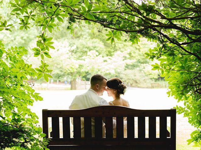 Owain and Kelly's wedding in Brynmenyn, Bridgend 2