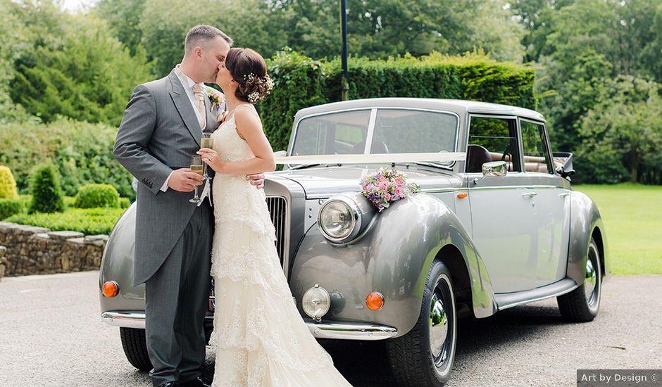 Owain and Kelly's wedding in Brynmenyn, Bridgend